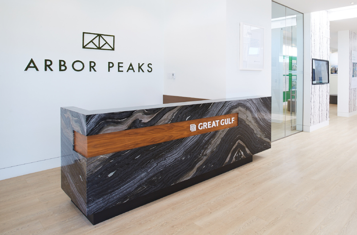 Arbor Peaks - Reception Desk