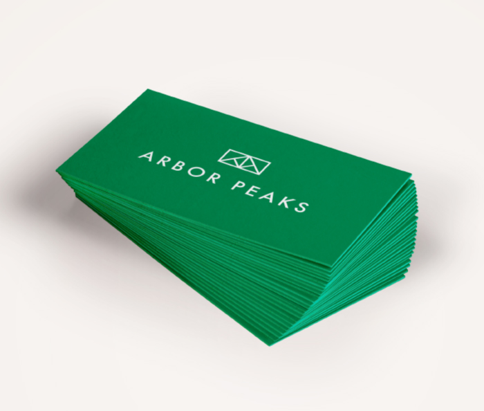 Arbor Peaks - Business Cards